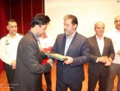 آیین تجلیل از ناجیان غریق شهرستان محمودآباد برگزار شد