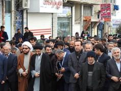 جشن باشکوه سی وهشتمین پیروزی انقلاب اسلامی در شهرچمستان برگزارشد