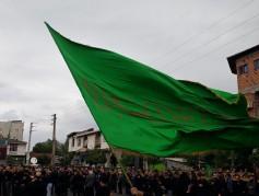 تجمع بزرگ عزاداران عاشورایی درشهر نور برگزار شد+تصاویر