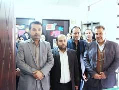 آیین افتتاح نمایشگاه نقاشی آب = زندگی با حضور مسئولین شهرستان در دبستان غیردولتی قائم(نور) برگزار شد .