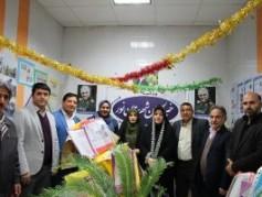 نخستین نمایشگاه مطبوعات،خبرگزاریها و رسانههای غرب استان برگزار شد+تصاویر