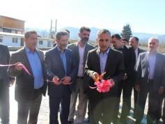 با حضور مسئولان شهرستانی پروژه شمال بتن در شهرک صنعتی افتتاح شد