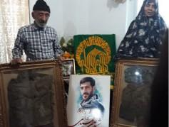 خدام رضوی با خانواده شهید مدافع حرم «علی جمشیدی» دیدار کردند