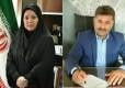 مهندس عباس ایزدی با کسب ۵ رای به عنوان رئیس و دکتر رقیه معصومیان بعنوان نائب رئیس جدید شورای شهر چمستان انتخاب شدند