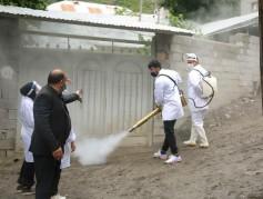عملکرد تحسین بر انگیز مجموعه اکسین در ضد عفونی کردن روستاهای بلده