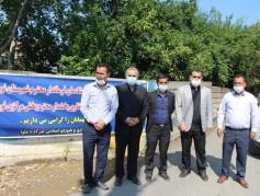 همزمان با هفته دولت پروژه آسفالت راه روستایی تیرکده علیا بخش مرکزی شهرستان نور یه بهره برداری رسید