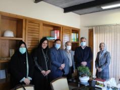 اعضای انجمن صنفی خبرنگاران شهرستان نور با حضور در مجموعه مهرگان از خیر ساخت مرکز دیالیز تقدیر کردند