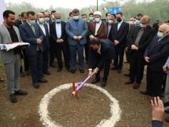 با حضور استاندار مازندران کلنگ سه طرح کشاورزی ، گردشگری و بازیافت به زمین زده شد